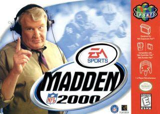 Madden NFL 2000 USA