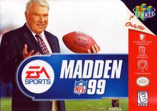 Madden NFL 99 USA