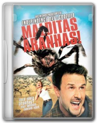 Capa do Filme Malditas Aranhas!