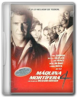 Capa do Filme Máquina Mortífera 4