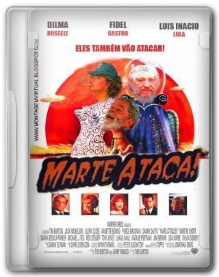 Capa do Filme Marte Ataca!