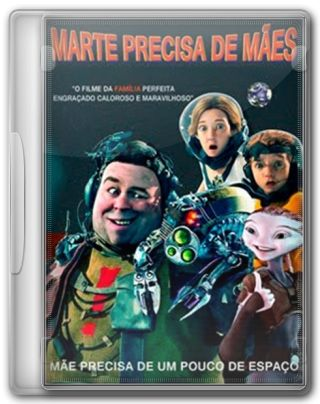 Capa do Filme Marte Precisa de Mães