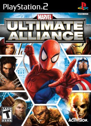 Capa Jogo Marvel Ultimate Alliance PS2