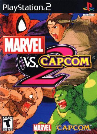 Capa Jogo Marvel vs Capcom 2 PS2