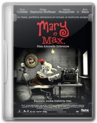 Capa do Filme Mary e Max Uma Amizade Diferente