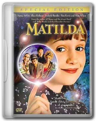 Capa do Filme Matilda