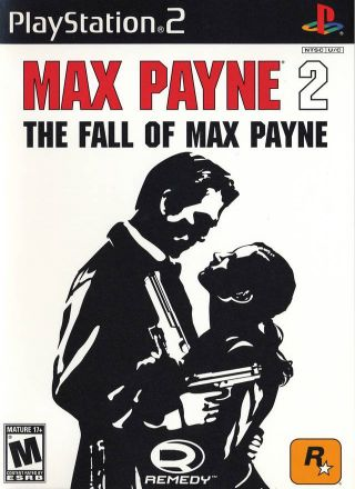 Capa Jogo Max Payne 2 The Fall of Max Payne PS2
