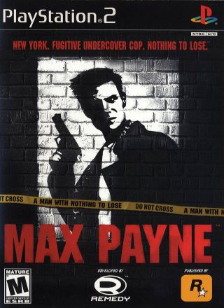 Capa Jogo Max Payne PS2
