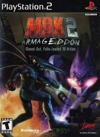 Capa Jogo MDK 2 Armageddon PS2