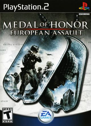 Capa Jogo Medal of Honor European Assault PS2