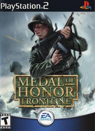 Capa Jogo Medal of Honor Frontline PS2