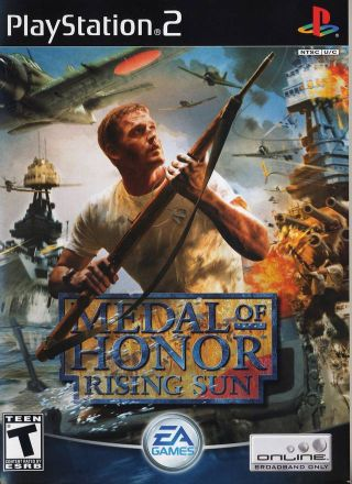 Capa Jogo Medal of Honor Rising Sun PS2