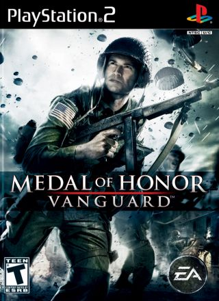 Capa Jogo Medal of Honor Vanguard PS2
