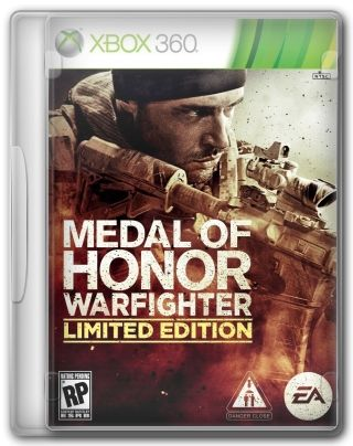 Capa Jogo Medal of Honor Warfighter XBOX 360
