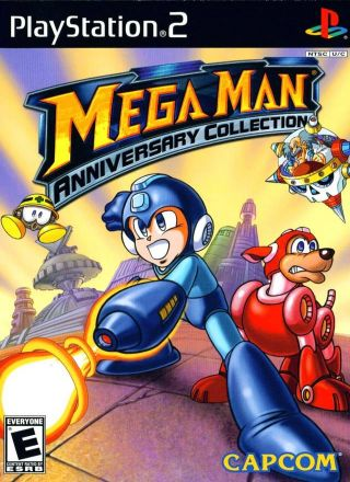 Capa Jogo Mega Man Anniversary Collection PS2