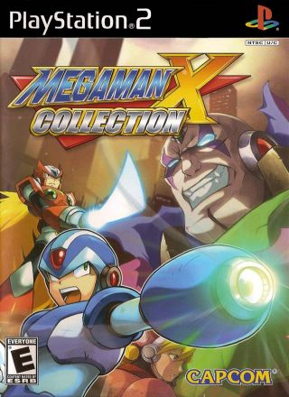 Capa Jogo Mega Man X Collection PS2