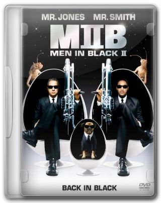 Capa do Filme Men in Black II