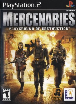 Capa Jogo Mercenaries PS2