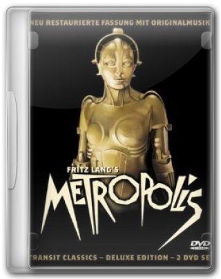 Capa do Filme Metrópolis