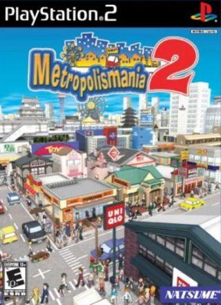 Capa Jogo Metropolis Mania 2 PS2