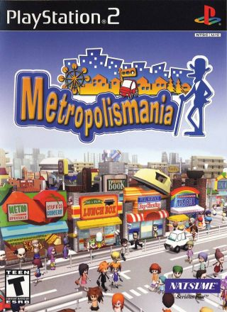 Capa Jogo Metropolis Mania PS2