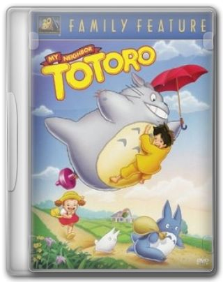 Capa do Filme Meu Amigo Totoro