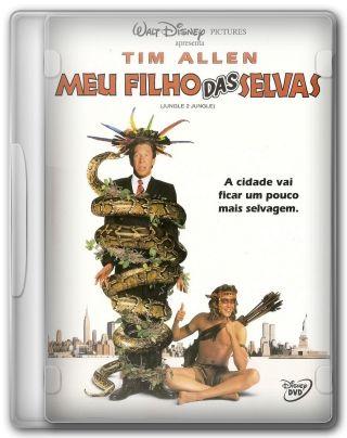 Capa do Filme Meu Filho das Selvas