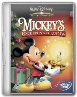 Capa do Filme Mickey\'s Once Upon a Christmas