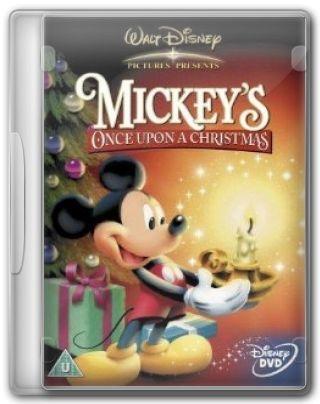 Capa do Filme Mickey\'s Once Upon a Christmas
