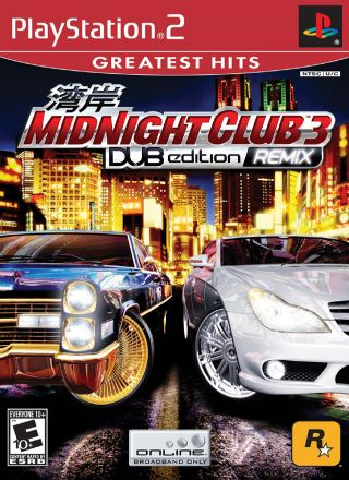 Capa Jogo Midnight Club 3 DUB Edition Remix PS2