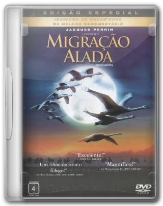 Capa do Filme Migração Alada