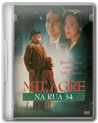 Capa do Filme Milagre na Rua 34