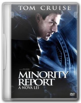 Capa do Filme Minority Report A Nova Lei