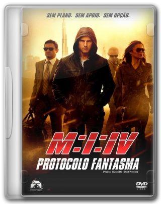 Capa do Filme Missão Impossível 4