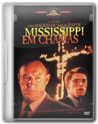 Capa do Filme Mississipi Em Chamas