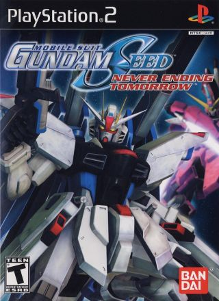 Capa Jogo Mobile Suit Gundam Seed Never Ending Tomorrow PS2