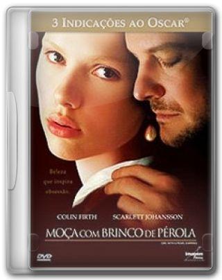 Capa do Filme Moça com Brinco de Pérola