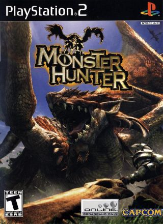 Capa Jogo Monster Hunter PS2
