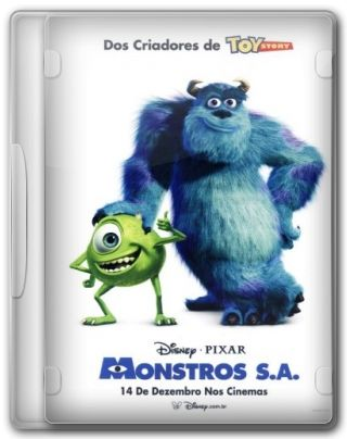 Capa do Filme Monstros SA