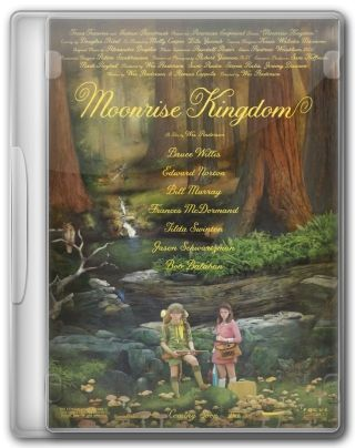 Capa do Filme Moonrise Kingdom