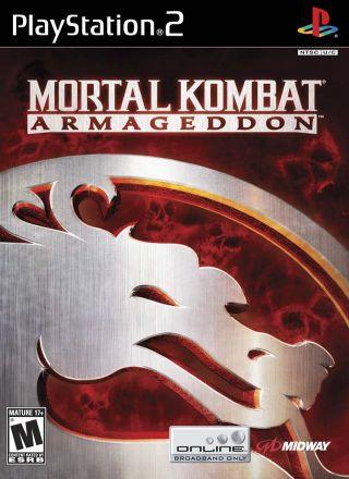 Capa Jogo Mortal Kombat Armageddon PS2
