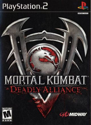 Capa Jogo Mortal Kombat Deadly Alliance PS2