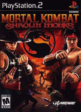 Capa Jogo Mortal Kombat Shaolin Monks PS2