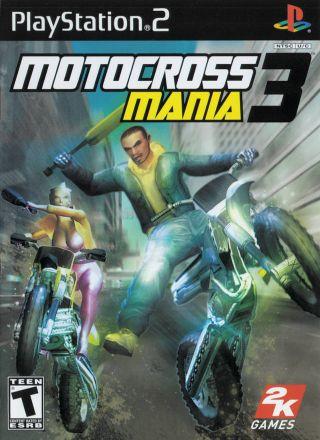 Capa Jogo Motocross Mania 3 PS2