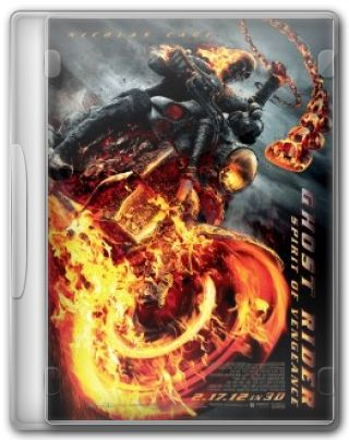 Capa do Filme Ghost Rider: Spirit of Vengeance
