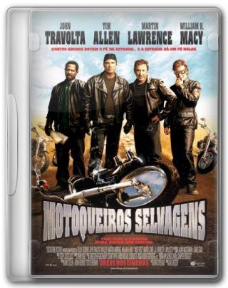 Capa do Filme Motoqueiros Selvagens