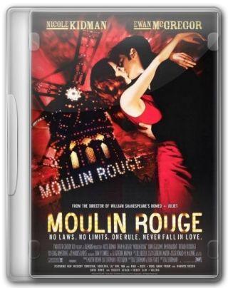 Capa do Filme Moulin Rouge - Amor em Vermelho