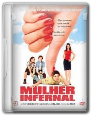 Capa do Filme Mulher Infernal