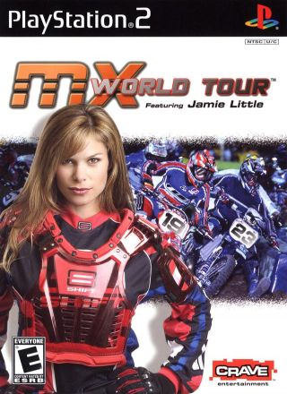 Capa Jogo MX World Tour featuring Jamie Little PS2