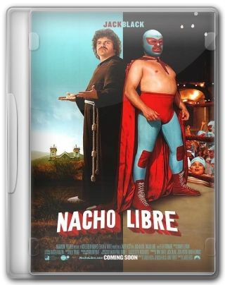 Capa do Filme Nacho Libre
